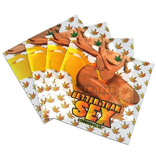 - 50 Better Than Sex Gold Leaf Parchment Paper Non Stick Oil Squares 4 x 4