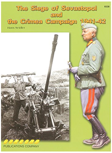 Price comparison product image Concord Publications The Siege of Sevastopol and The Crimea Campaign 1941-42