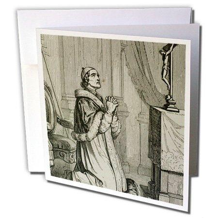 3dRose Greeting Cards Italian Pope Elected 1566 Saint Pius V Gc 83150 1