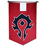 Xcar Cosplay World of Warcraft Horde Banner Flag