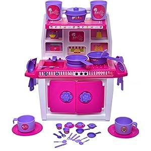 ToyDor Barbie Doll Kitchen Set...