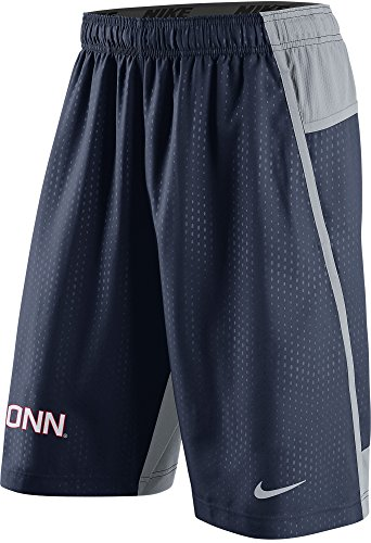 kies UConn Men's Fly XL 3.0 Dri-FIT Training Shorts (2XL, Navy Blue) (Nike Uconn Huskies)