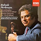 : Mendelssohn: Violin Concerto in E minor; Bruch: Violin Concerto #1; Itzhak Perlman