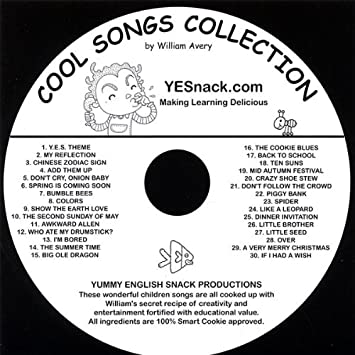William Avery Cool Songs Collection Times Table Fun