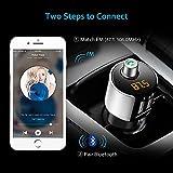 Comsoon Bluetooth FM Transmitter, Bluetooth
