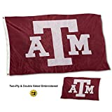 #10: Texas A&M Aggies Double Sided Nylon Embroidered Flag