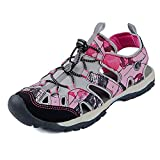 Northside Women's Burke II Athletic Summer Sandal, Pink Camo, 7 B(M) US; with a Waterproof Wet Dry Bag
