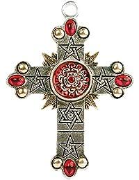 Forbidden The Rose Cross, High Magick Pendant Charm Amulet Talisman