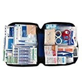 All-Purpose First Aid Kit with Thermometer, Soft Case, 312-Piece Kit