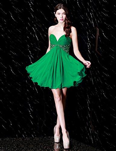 Para Vestido Trapecio Mujer Vimans Verde 46 xEUZTqw