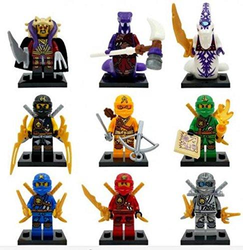 Ninja Ninjago TMNT Cole Jay Kai DIY Model Building Bricks Blocks Action Minifigures Kids Toys Gift Compatible With Lego mu?eca Figura de h?roes ni?os