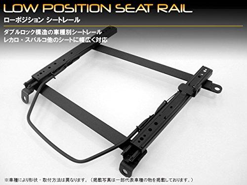 スパルコ用底留めシートレール スーパースポーツ系 プレオ 型式:RA1/2RV1/2 運転席側 B00WQ8FHXE