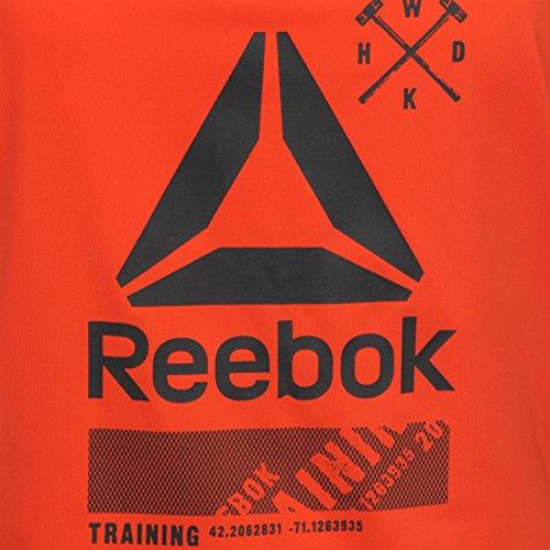Reebok Mujer One Series Activchill Tank Top Deporte Sin Mangas Entrenar Running Carotene