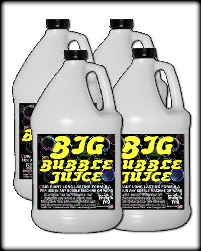[4 Gal - BIG Bubble Juice - Enormous Long-Lasting Bubble Fluid] (Big Fog Machine)