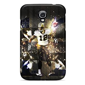JasonPelletier Samsung Galaxy S4 Durable Hard Phone Cover Custom High Resolution New Orleans Saints Pictures [aJk5168LPjL]