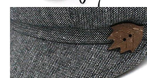 Las mujeres Sra. otoño transpirable tapa domo placer femenino moda boina  sombrero gorra todos-match joven madre tapa para la circunferencia de la  cabeza  ... dbc05cefd8f