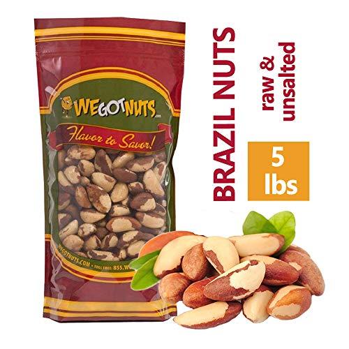 Brazil Nuts - 5 Pounds - We Got Nuts