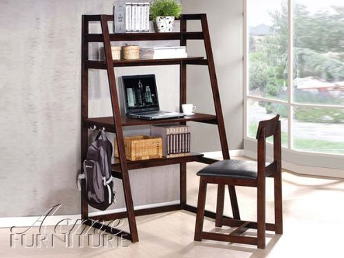 2-pc-celia-collection-espresso-finish-wood-leaning-angular-wall-desk-shelf-unit-and-chair-set-with-m