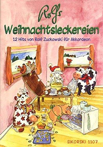 Rolfs Weihnachtsleckereien: 12 Hits für Akkordeon (Ed. 1107)