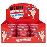 Archie Mcphee Instant underpants. Just add water