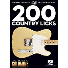 200 Country Licks: Guitar Licks Goldmine