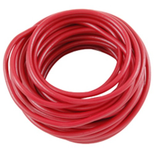 NTE Electronics WA06-02-10 Hook Up Wire, Automotive, Type 6 Gauge, Stranded, 10' Length, Red