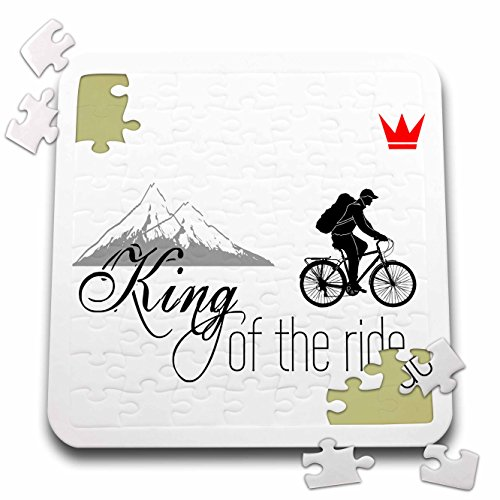 3dRose Alexis Design - Sport Bicycle - King of the ride. Mal