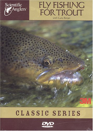 Scientific Anglers Fly Fishing For Trout DVD Video Fly Fishing Video Training Guide, Outdoor Stuffs