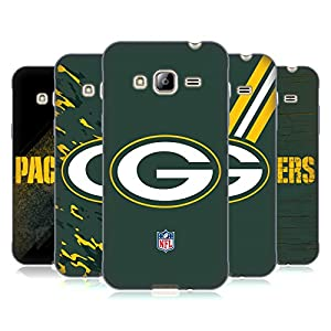 Official NFL Green Bay Packers Logo Soft Gel Case for Samsung Galaxy J3