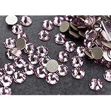 Flat back Crystal 2058 Swarovski Rhinestone No Hotfix Round 212 Light Amethyst SS16 4mm 72 pcs (Light Purple)