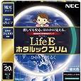 NEC 丸形スリム蛍光灯(FHC) LifeEホタルックスリム 20形 昼光色 FHC20ED-LE-SHG