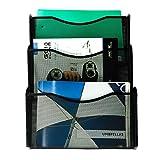 YIMU 3 Pack Mesh Hanging Wall File Organizer