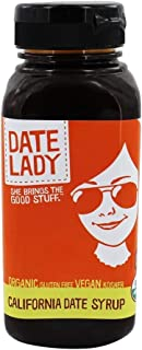 product image for Date Lady Squeeze Bottle Pure Date Syrup, Organic, 12 oz