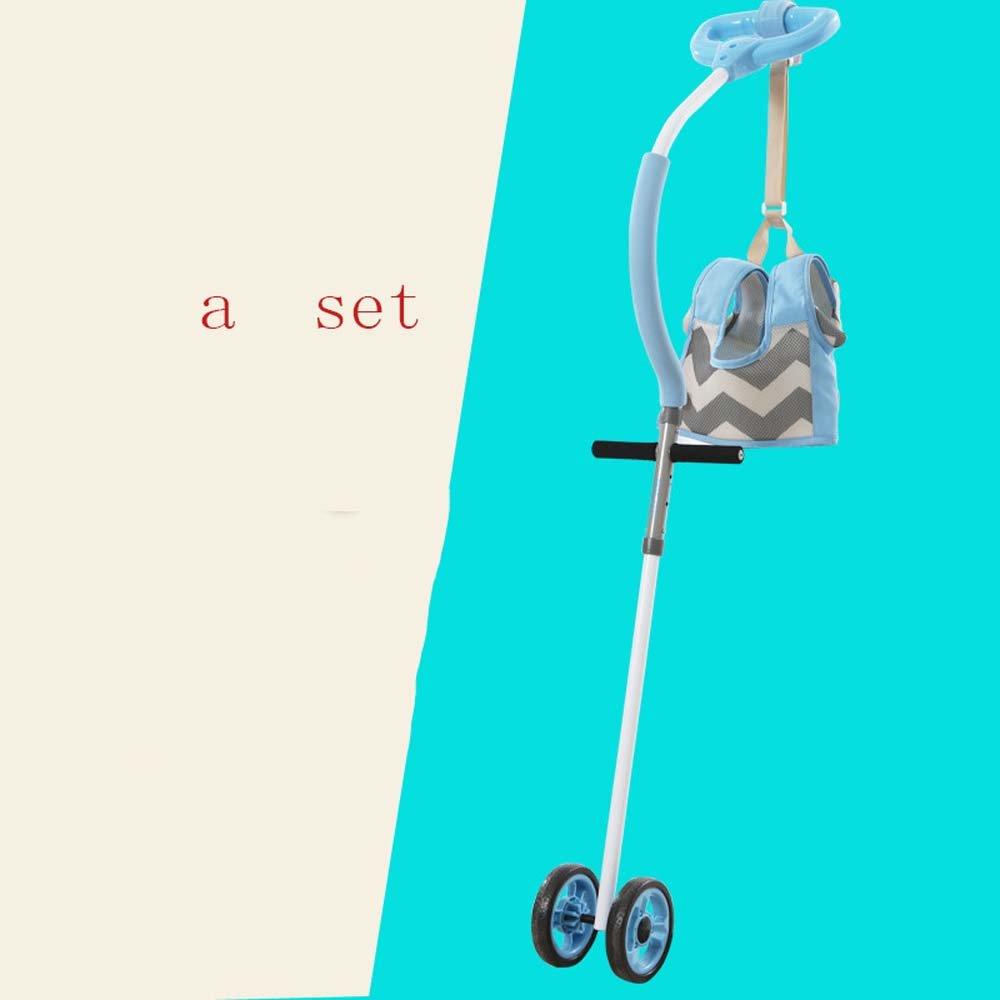 GONGFF Baby Walker 6-7-18 Months Baby Walking Car Multi-Function Learningstep Belt,#2