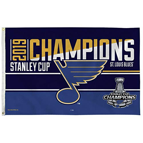Rico Industries St. Louis Blues 2019 Stanley Cup Champions Pole Flag
