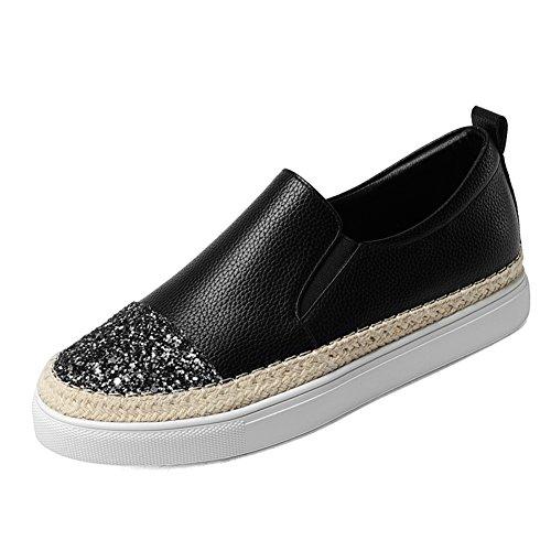 Profundas señoras zapatos planos/Lazy pedal shoe/lentejuelas zapatos/Zapatos de corte bajo A