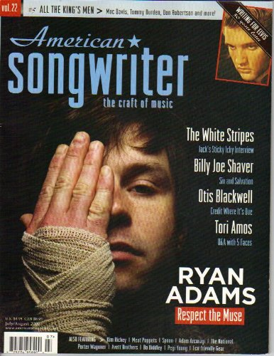 Songwriter Magazine - American Songwriter Magazine July/August 2007 Single Issue
