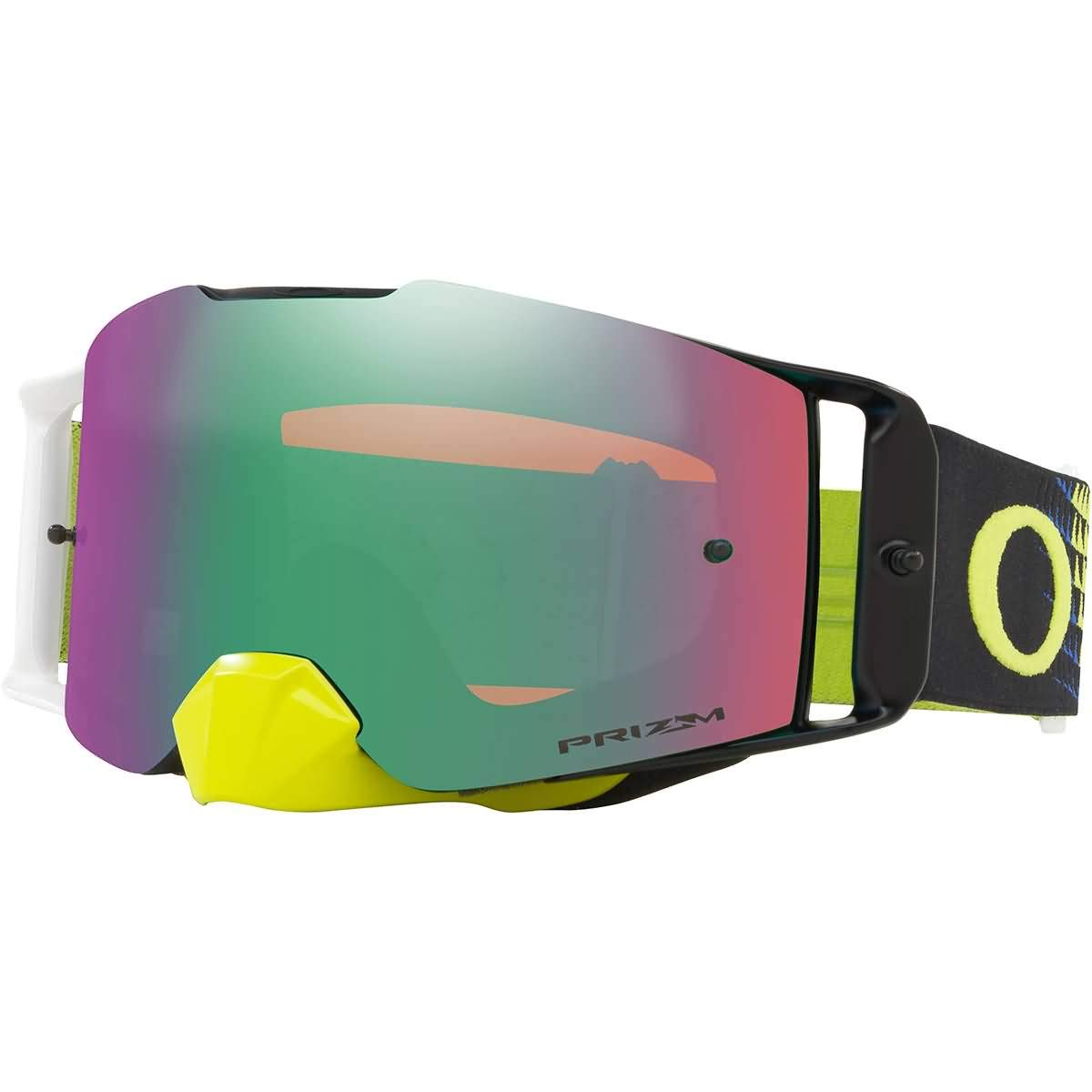 Oakley Front Line MX Adult Off-Road Motorcycle Goggles - Dissolve Green Blue/Prizm Jade