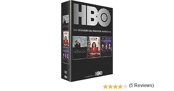 HBO politique : The Newsroom + Veep + Game Change Francia DVD ...