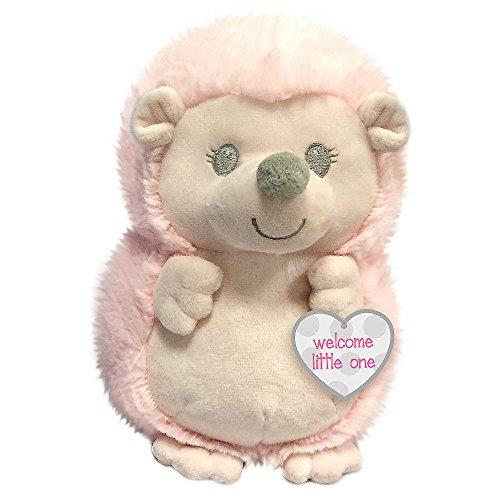 Pink Hedgehog - First & Main Baby Hedgies Stuffed Animal Plush, Pink, 7