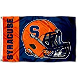 Syracuse Orange Football Helmet Flag