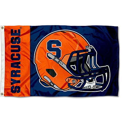 College Flags and Banners Co. Syracuse Orange Football Helmet Flag