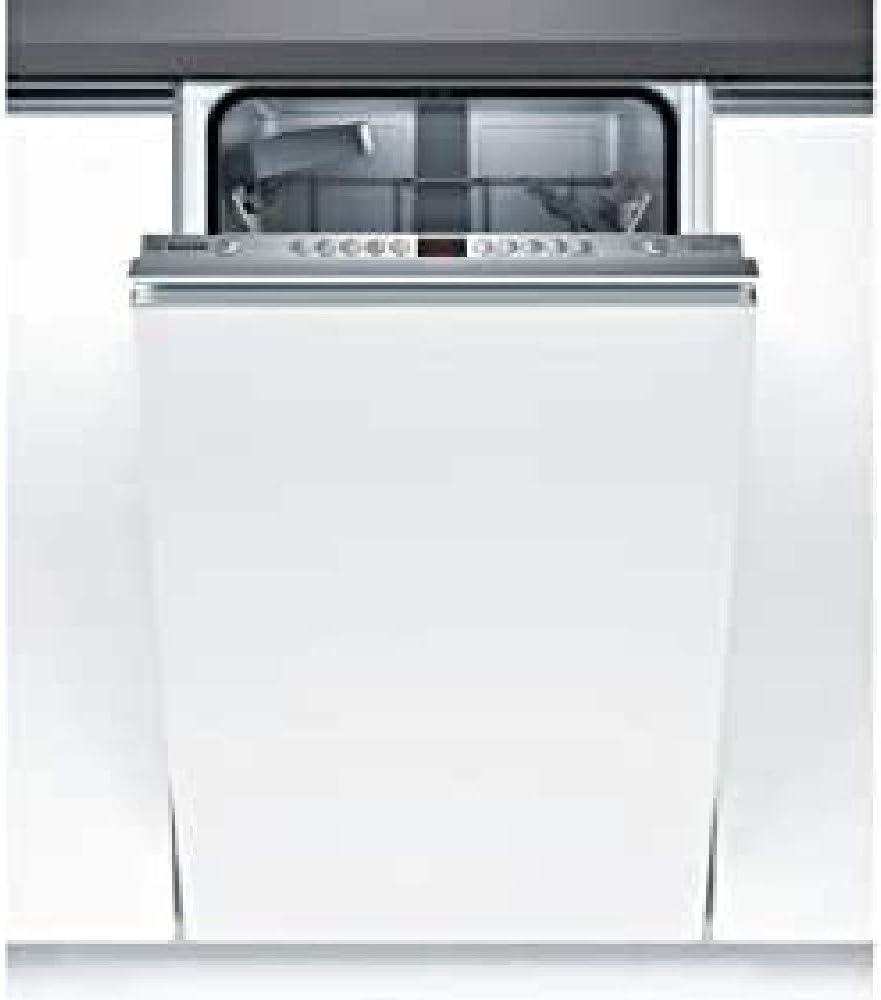 Bosch Serie 4 SPV45IX05E lavavajilla Totalmente integrado 9 cubiertos A++ - Lavavajillas (Totalmente integrado, Tamaño completo (60 cm), Blanco, Acero inoxidable, Botones, 1,75 m)