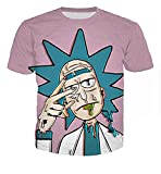 Men Women Hoodies Sweatshirt Cartoon Rick and Morty Print Fashion Hoodie Casual Pullovers Color 11 M