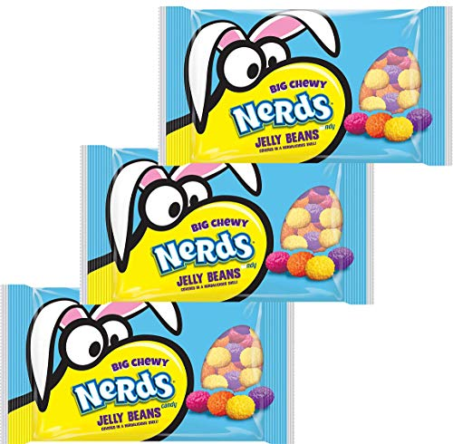 Nerds Covered Chewy & Bumpy Jelly Beans - 13 Oz Bag (Pack of -