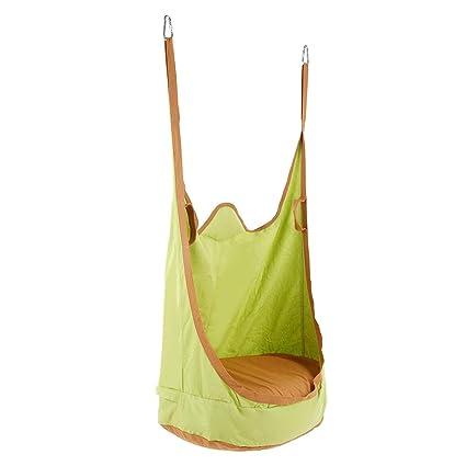 Surprising Amazon Com Lixada Kids Pod Swing Chair Indoor Outdoor Theyellowbook Wood Chair Design Ideas Theyellowbookinfo