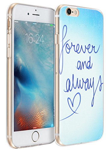 Case for iPhone 6S Plus Quotes/Compatible Case Replacement for iPhone 6 Plus Quotes About Love Scripture Song Lyrics Inspirational