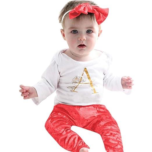 8a688aeaa4e0 Amazon.com  Sameno FashionInfant Baby Boy Girl Clothes Romper Pants ...
