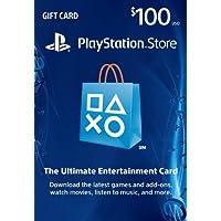 $100 PlayStation Store Gift Card - PS3/ PS4/ PS Vita...