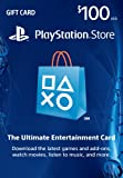 $100 PlayStation Store Gift Card [Digital Code]: more info